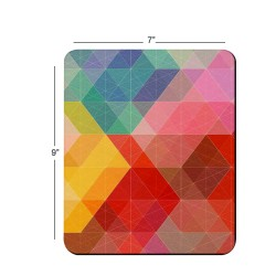 Fantaboy Abstract Print Soft Mouse Pad