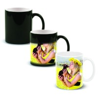 Colour Changing Magic Photo Mug - Customize with Your Photograph or Message