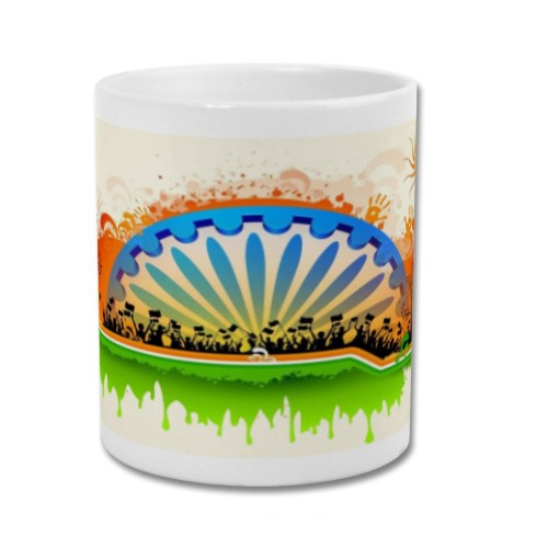 Fantaboy Republic Day Celebration printed Coffee Mug