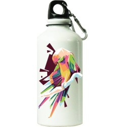 Fantaboy Water Parrot   Printed Sipper Bottle (7x7 Inch)