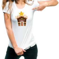 Fantaboy Christmas Cookie Printed T-shirt