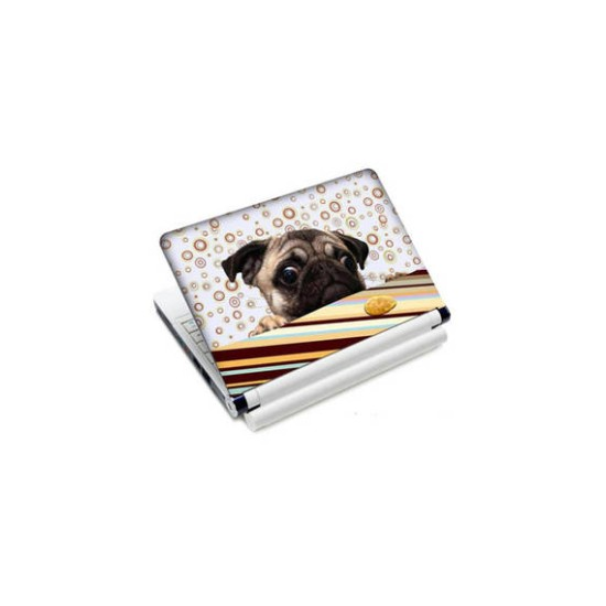 Fantaboy  Abstract Dog Printed Laptop Decal