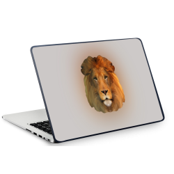 Fantaboy  Lion's Head Printed Laptop Decal
