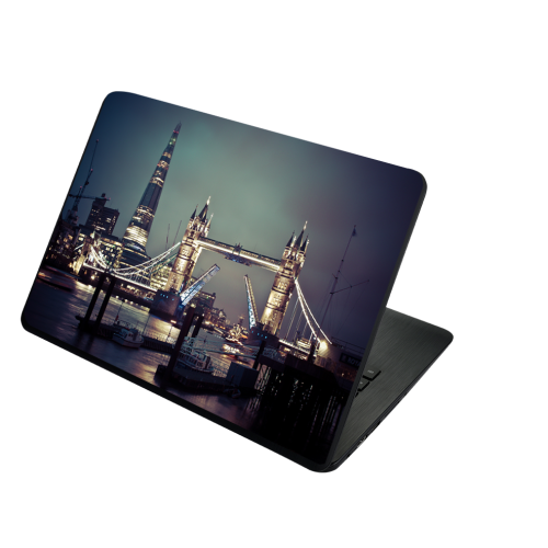 Fantaboy London's Tower Bridge Printed Laptop Decal