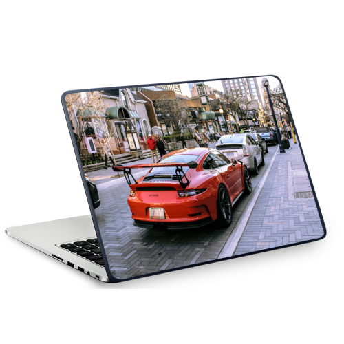Fantaboy Porscche Cayman Bonnet Printed Laptop Decal