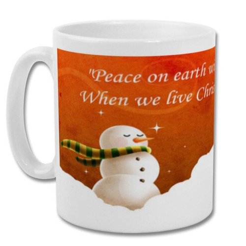 Fantaboy Best Christmas Printed Coffee Mug