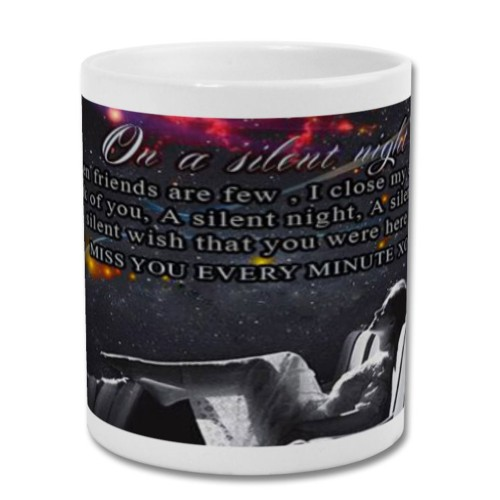 Fantaboy Best On A Silent Night Printed Coffee Mug