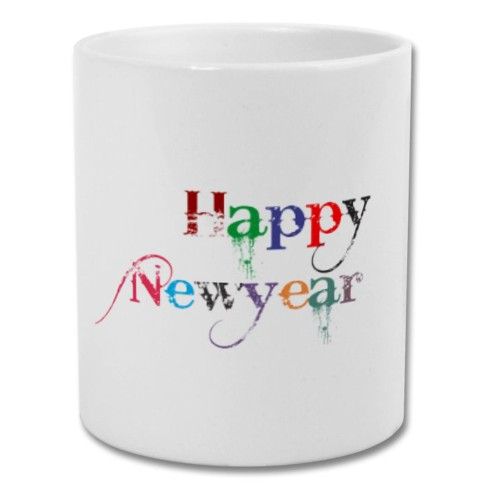 Fantaboy Best Happy New Year Printed Coffee Mug