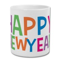 Fantaboy Happy New Year Printed Coffee Mug