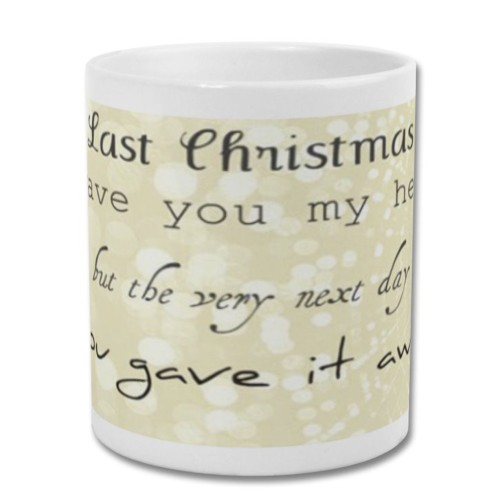 Fantaboy Last Christmas Printed Coffee Mug