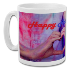 Fantaboy Love At Holi Printed Coffee Mug