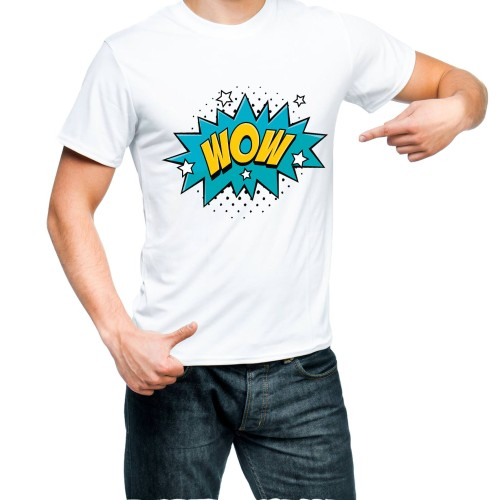 Fantaboy Wow Printed T-shirt