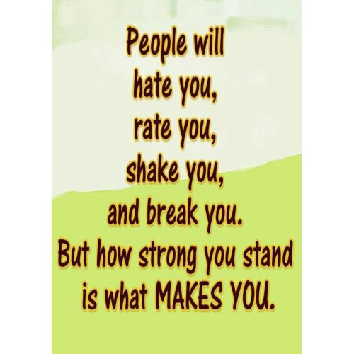 """Fantaboy People will.. motivational Quote Poster (12""""x""""18)"""