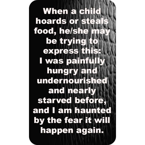 "Fantaboy Hungry Child Quote Poster (12""x""18)"