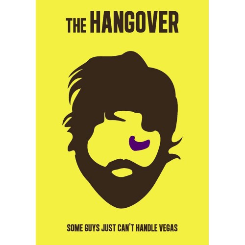 "Fantaboy The Hangover's Quote Poster (12""x""18)"