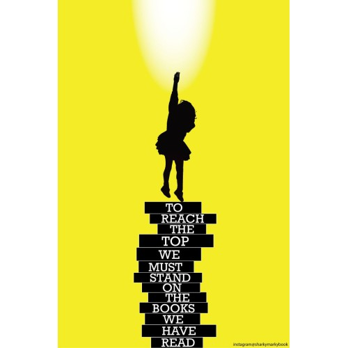 """Fantaboy Reading Encouragement Quote Poster (12""""x""""18)"""
