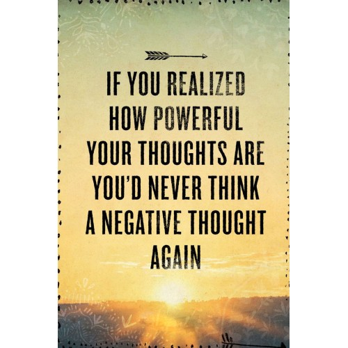 """Fantaboy Motivational Thought Quote Poster (12""""x""""18)"""