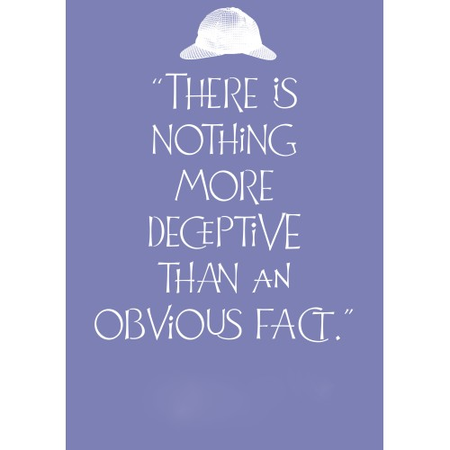 """Fantaboy Deception Quote Poster (12""""x""""18)"""