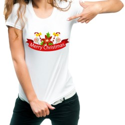 Fantaboy Marry Christmas Printed T-shirt