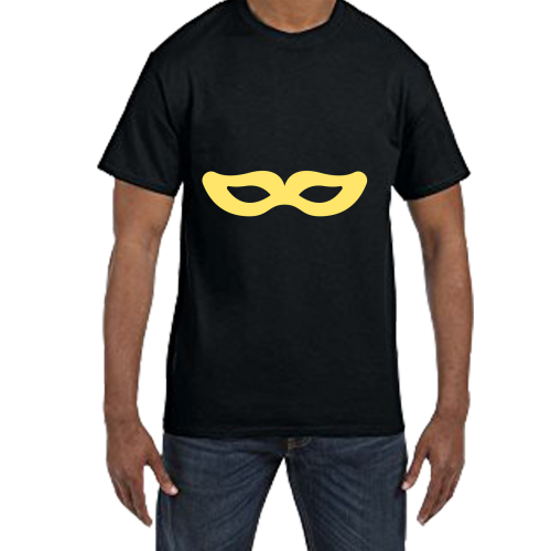 Fantaboy Cool Mask Printed T- shirt