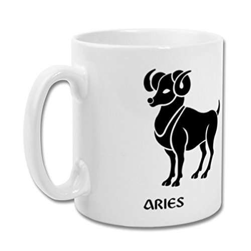 Fantaboy  Aries Zodiac Sign Printed Coffee Mug