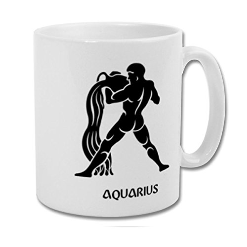 Fantaboy Aquarius Zodiac Sign Printed Coffee Mug
