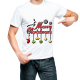 Fantaboy Marry Christmas Gift Printed T-shirt