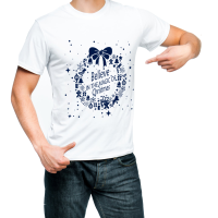 Fantaboy Believe in The Magic of Christmas Printed T-Shirt