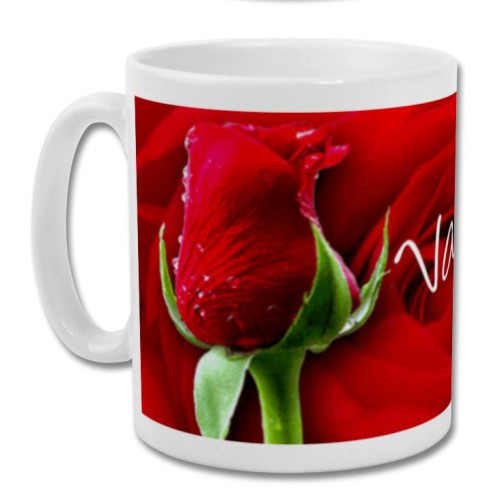 Fantaboy Valentine Day For Rose Day Printed Coffee Mug