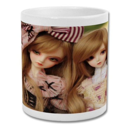Fantaboy Cute Baby Doll Printed Coffee Mug