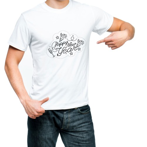 Fantaboy Happy New Year Special Printed T-shirt