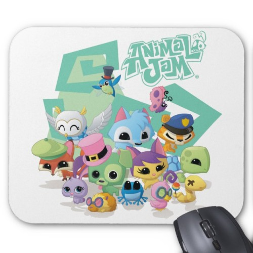 Fantaboy Animal  Jam Pets Mouse Pad