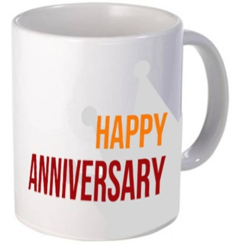 Fantaboy Happy Anniversary Crown Coffee Mug