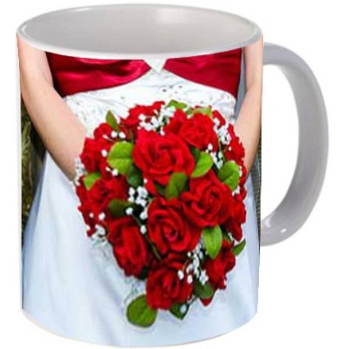 Fantaboy Happy Anniversary Roses Coffee Mug