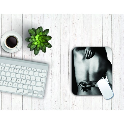 Fantaboy Bare Back Printed Mouse Pad