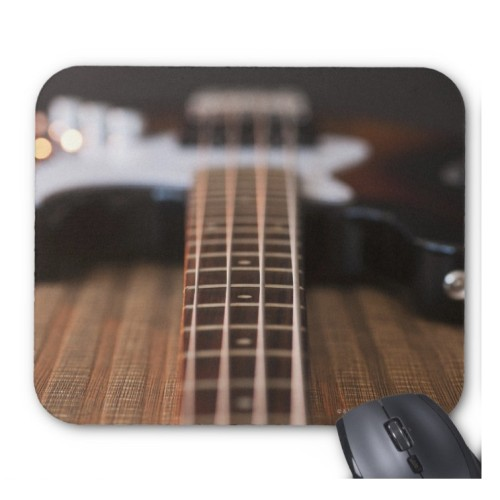 Fantaboy Bass Guitar Mouse Pad