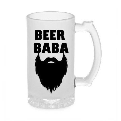 Fantaboy The Beer Baba Beer Glass Mug