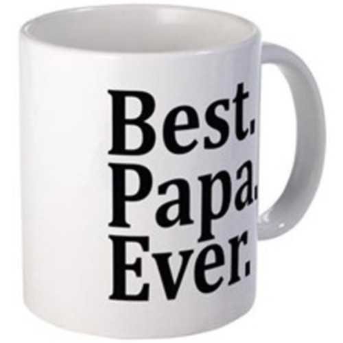 Fantaboy Best Papa Ever Ceramic Mug