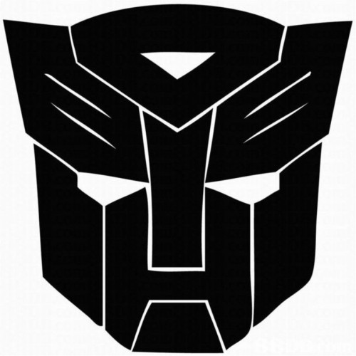 Fantaboy Cool Funky Transformer Sides Car Sticker