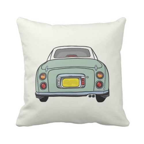 Fantaboy Emerald Green Nissan Figaro Cushion Cover