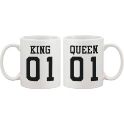Fantaboy King 01 and Queen 01 Couple Ceramic Mug