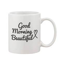 Fantaboy Good Morning Mug Set - Wedding and Bridal Shower Gifts for Couples