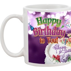 Fantaboy Happy Birthday To You Ceramic Mug