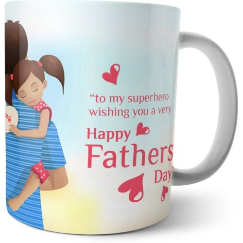 Fantaboy Happy Father's Day Quotes Messages Printed Coffee Mug