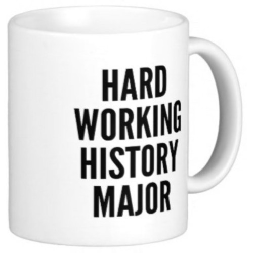 Fantaboy Hard Working Quote Ceramic Mug