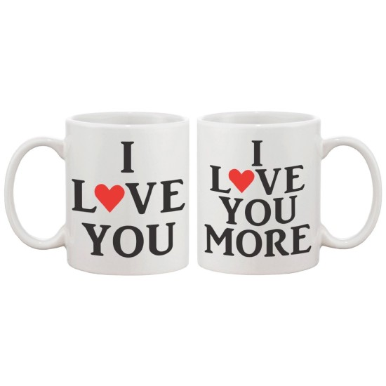 Fantaboy I Love You Coffee Mug For Couple