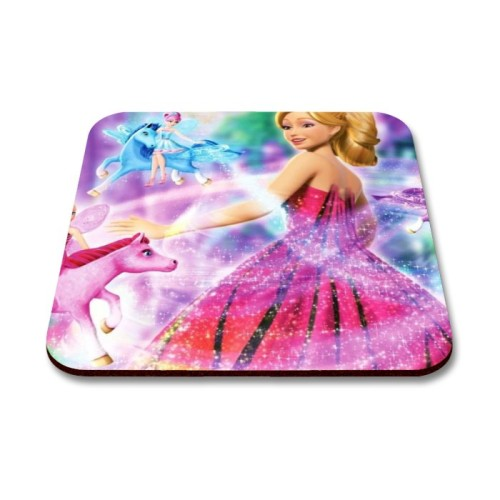 Fantaboy  Pink Baby Doll Printed Mouse Pad