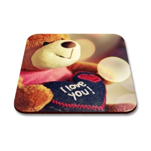 Fantaboy Beautiful Teddy Bear  Printed Mouse Pad