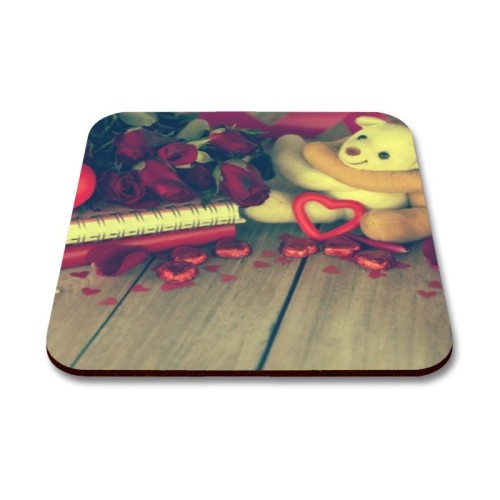 Fantaboy Cute Teddy Bear Printed Mouse Pad