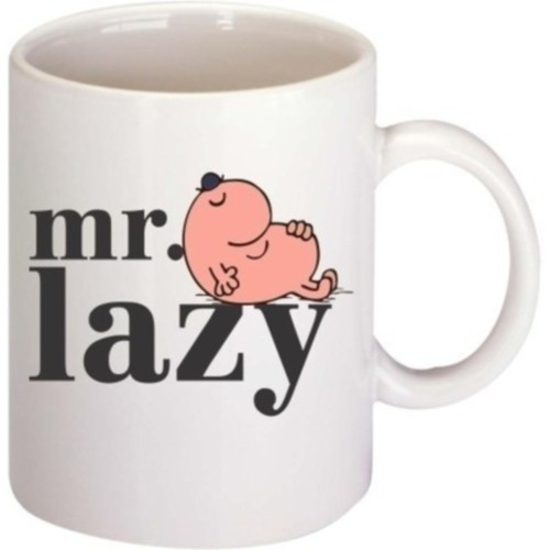 Fantaboy Mr. Lazy Ceramic Mug